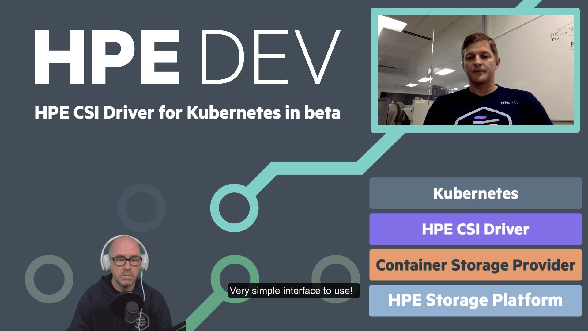 Introducing the multi-platform and multi-vendor HPE CSI Driver (beta) for Kubernetes